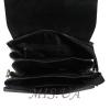 Мужская кожаная сумка Vesson 4523 черная 5