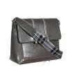 Женская сумка МІС 35810 серая 2