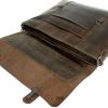 Мужской кожаный портфель Vesson 4635 коричневый 6