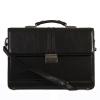 Мужской кожаный портфель 4468 черный 2