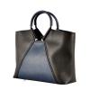 Жіноча сумка 35601 чорна - комбінована 3