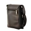 Мужская сумка из натуральной кожи Vesson 4532 черная 4