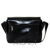 Мужская кожаная сумка Vesson 4583  черная  4