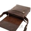 Мужская сумка-барсетка Vesson 4538 коричневая 5