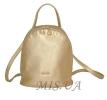 Женский рюкзак 35411 золотистый 0