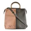 Женская сумка 35596-1 серая комбинированная 0