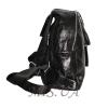 Женский кожаный рюкзак 381995 черный 2