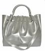 Женская сумка 35453 А  серебристая 0