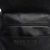 Мужская кожаная сумка Vesson 4606 черная 4