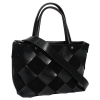Женская замшевая сумка MIC 0734 черная 2