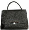 Женская сумка 2527 черная з тиснением 0