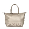Жіноча сумка 35643 срібна 0