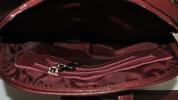 Жіночий рюкзак 2538 бордовий 6