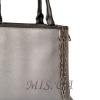 Женская сумка 35668 серебристая 2