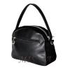 Женская замшевая сумка МІС 0710 черная 3