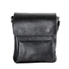Мужская кожаная сумка Vesson  4564 черная 0