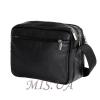 Мужская кожаная сумка Vesson 4570 черная 4