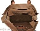 Мужской кожаный портфель 4254 коричневый 6