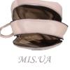Городской кожаный рюкзак МIС 2636-1бежевый 4