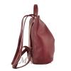 Female backpack 2569 burgundy 3