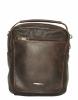 Мужская кожаная сумка 4348 коричневая  0