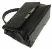 Женская сумка 2527 черная з тиснением 4