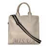 Женская сумка 35644 серебристая 4