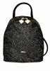 Женский рюкзак 35411 черный  с принтом 0