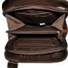 Men's leather handbag 4323 is brown 6