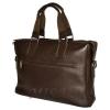 Мужской кожаный портфель 4369 коричневый 4