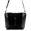 Жіноча замшева сумка МІС 0738 чорна 0