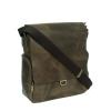 Мужская кожаная сумка Vesson 4623 коричневая 2