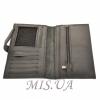 Мужской кожаный кошелек 4383 черный 0