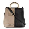 Женская сумка 35596-1 черная-комбинированая 4