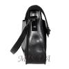 Женская замшевая сумка МІС 0711 черная 3