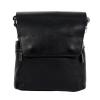 Мужская кожаная сумка Vesson 4633 черная  0