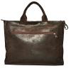 Мужской кожаный портфель 4252 коричневый 3