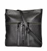 Женская сумка 35609 темно-серебристая 0
