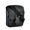 Мужская кожаная сумка Vesson 4563 черная 2