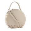 Жіноча кругла сумка МІС 35716 бежева 1