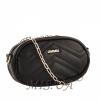 Жіноча сумка на пояс 35626 чорна 2