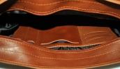 Мужской портфель 4226  рыжий 4