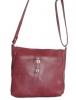 Женская сумка 35447 бордовая  5