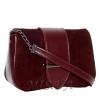 Женская замшевая сумка MIC 0708 марсала 2