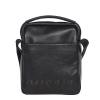 Мужская кожаная сумка Vesson 4584 черная 3