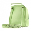 Городской кожаный рюкзак МІС 192509 мятный 2