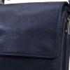 Мужская кожаная сумка 4260 синяя 3