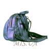 Female backpack 2533 purple metallic 2