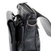 Мужская кожаная сумка Vesson  4564 черная 6