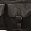 Мужской кожаный портфель 4301 черный 3